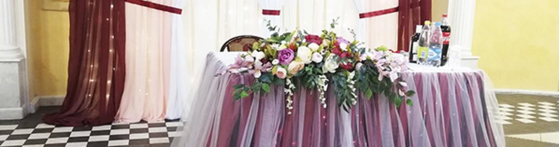 Выбираем декор для свадебного зала